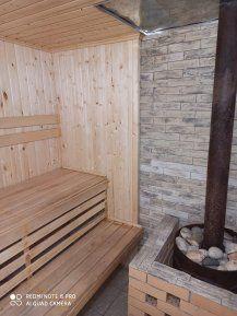Новая уютная чистая баня на дровах в центре города