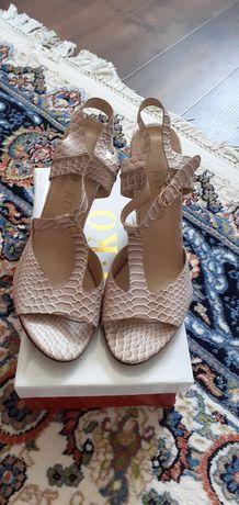 Туфли женские с застёжкой.