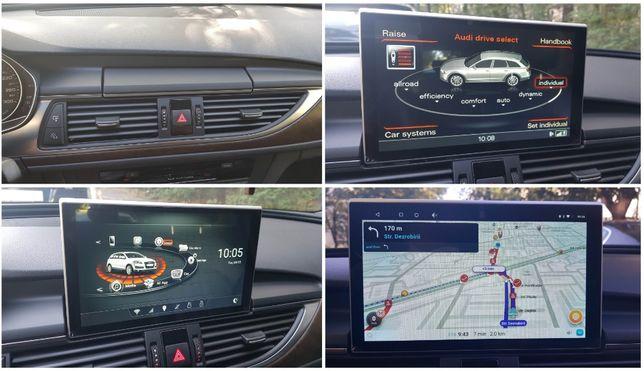 Navigatie cu android dedicata Audi A6 C7 4G / A7 4G 2011-2018