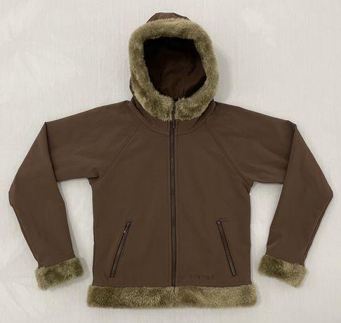 Softshell MARMOT (S dama jacheta outdoor primavara toamna fleece munte