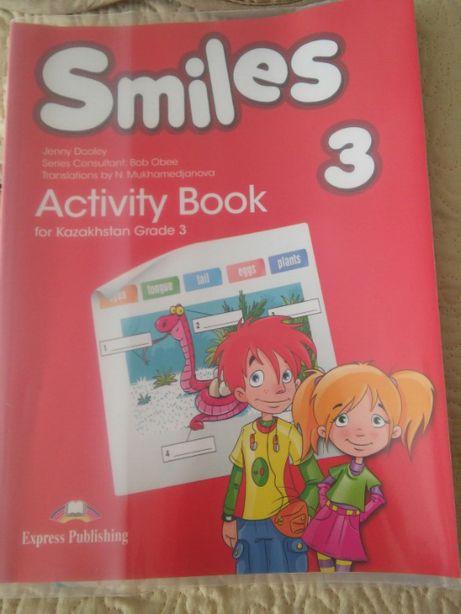 продам для английского языка тетрадь Activity book для 3 класса новый