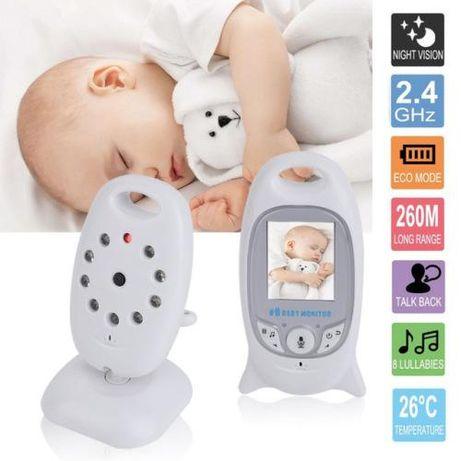 Камера за бебе тип бебефон с нощно виждане, микрофон и различни мелоди