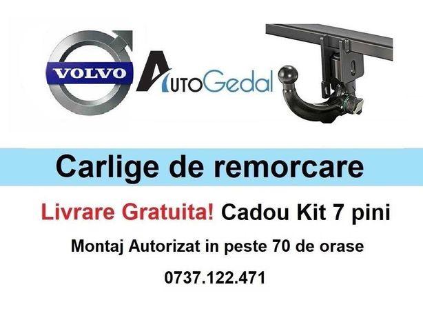 Carlige de remorcare omologate RAR Volvo XC70 - 5 ani garantie