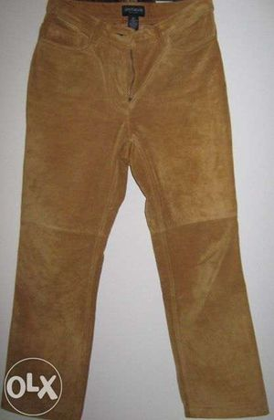 Pantaloni Dama Piele Intoarsa