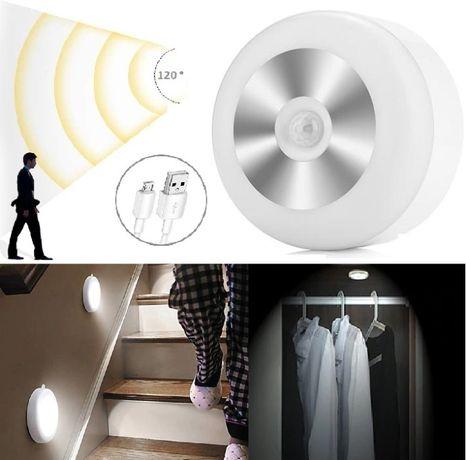 Интелигентна безжична лампа с фотоклетка и USB презаредима батерия