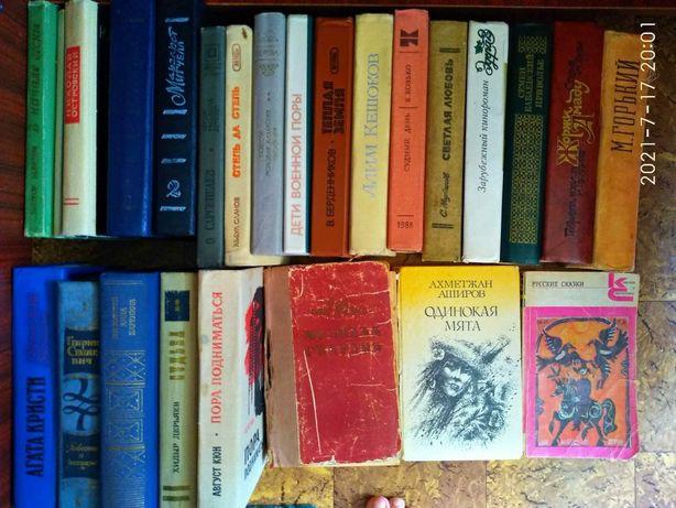 Книги - русская и казахская литература