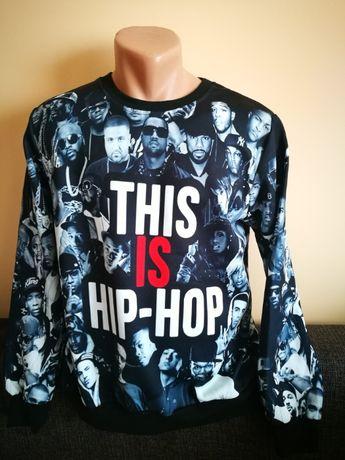 Bluza This is Hip Hop. Bluza retro pentru fanii hip-hop,rapp. Jay-Z.