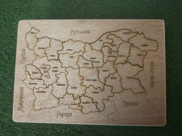 Карта пъзел