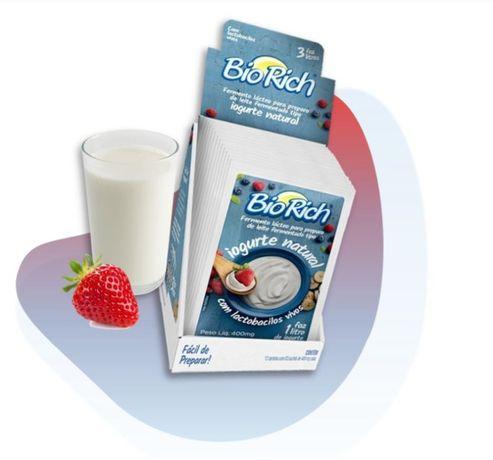 Biorich - Fermenţi probiotici pentru iaurt de casă