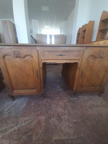 Birou vechi lemn cu doua fete