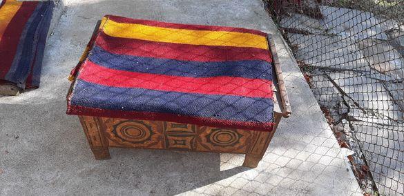 Черга и килим-нови