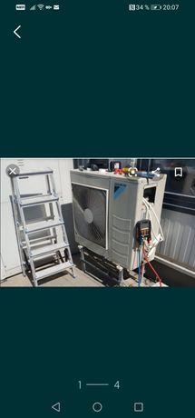 Montaj și igienizare aer condiționat