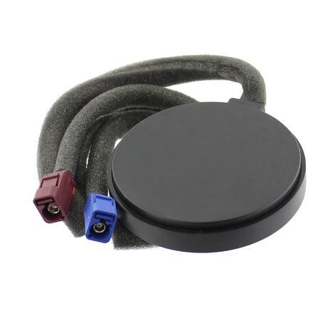 Antena GPS + GSM, Fakra C+D