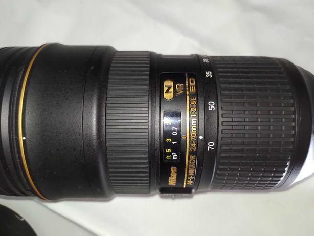 Obiectiv Nikkor AF-S NIKKOR 24-70mm f/2.8E ED VR