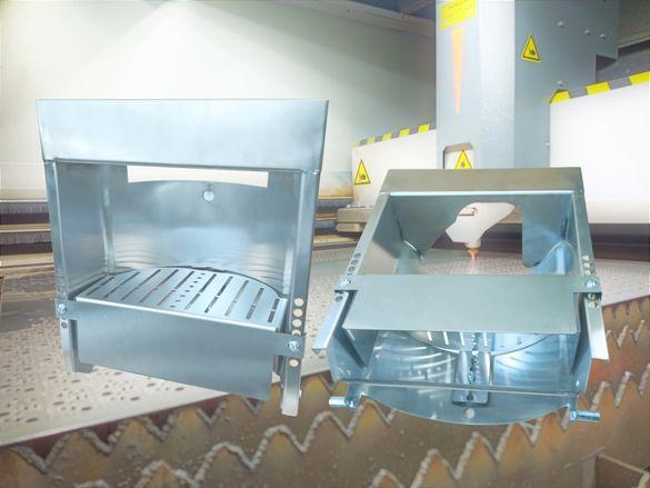 Защитни елементи Вендинг части изработка