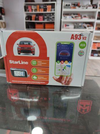 Сигнализация сигналка оригинал Старлайн А93 Starline v2