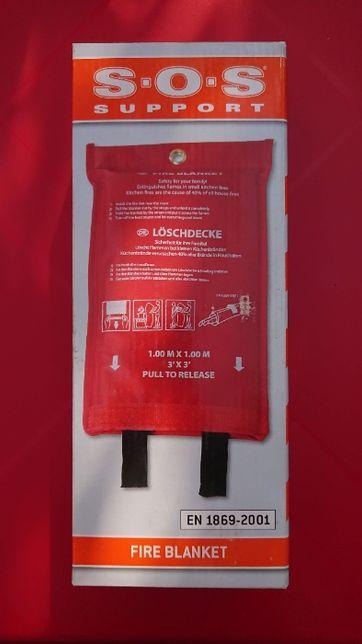 Patura antifoc (ignifuga), 1 x 1 m, omologata (pachet sigilat)