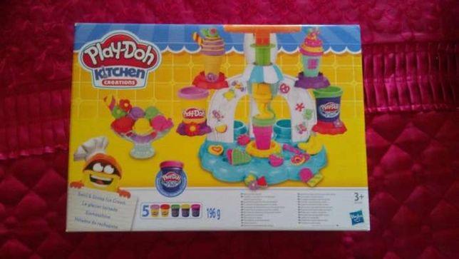 Play doh kitchen bucatarie nou