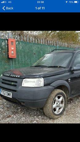 Capota neagra fata Land Rover Freelander