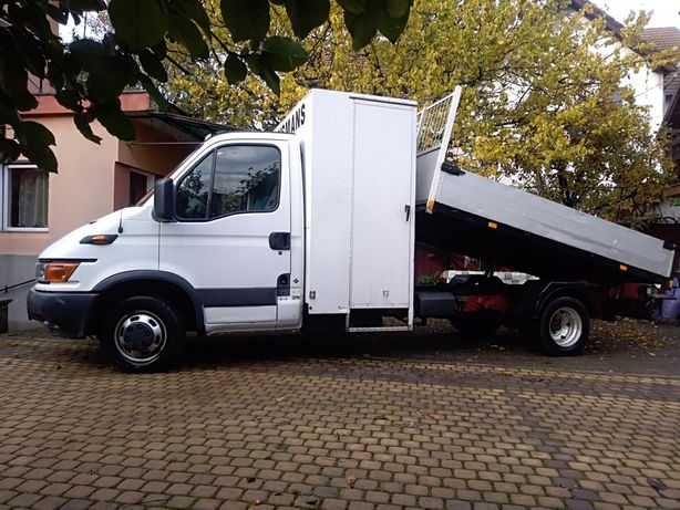 Iveco Daily an 2001, basculabil,3,5-t. Motor 2800.