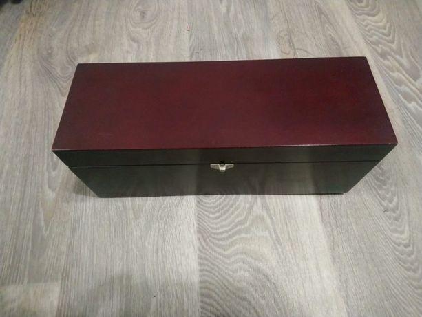 Подарочная коробка для вина, из натурального дерева