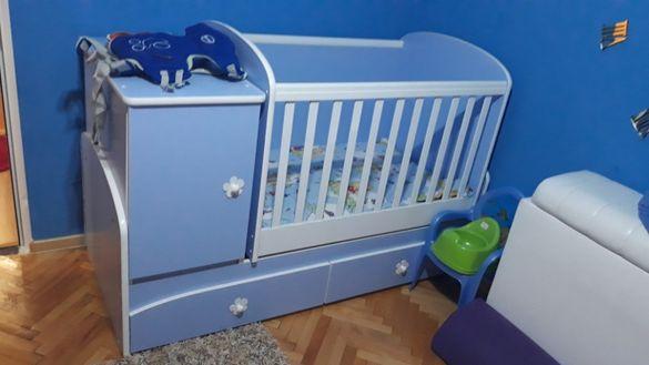 Детско легло, кошара, люлеещо. 170/70см. 260лв.