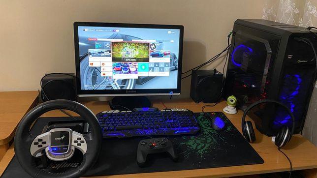 Мощный игровой компьютер, Пк, Ryzen 5 2600, rx560