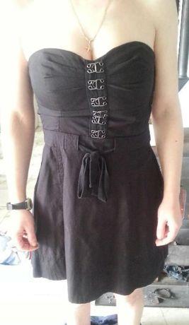 Малка черна рокля и спален комплект