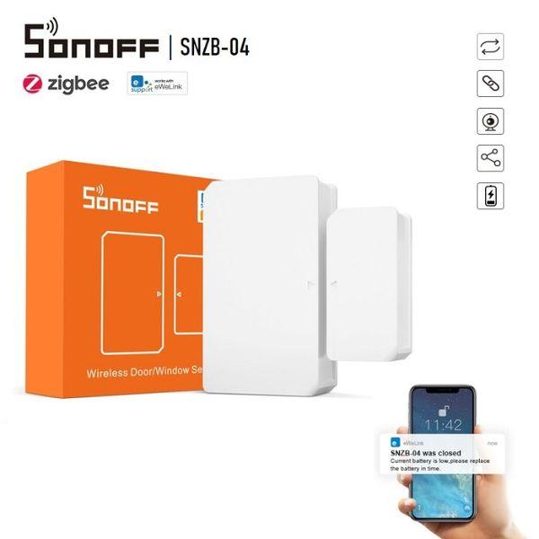 SONOFF SNZB-04 – ZigBee сензор за врати и прозорци -С включена Батерия гр. София - image 1