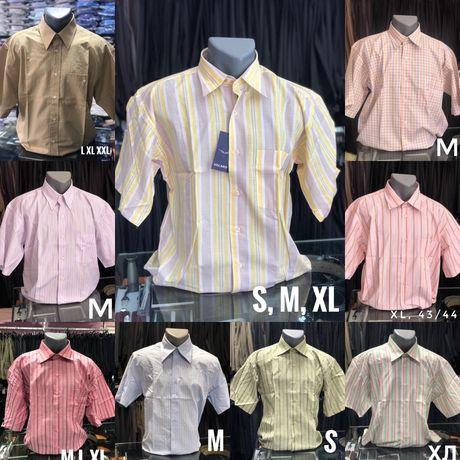 Нови мъжки ризи в различни цветове и размери