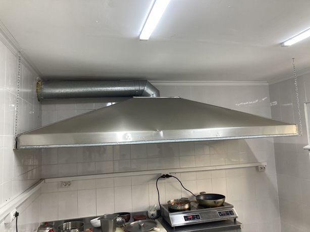 Профессиональная вытяжка для кухни