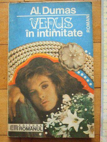 vand carte ,, VENUS IN INTIMITATE,, de AL. Dumas