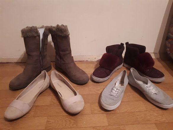 Детски пантофки , ботушки кецове обувки летни зимни 36, 37 номер