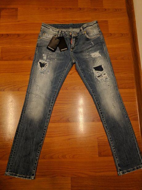 Blugi Dsquared2 Jeans Dama NOI Talie Joasa