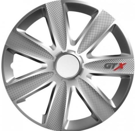 """Тасове за джанти 14,15,16\"""" Versaco Carbon GTX - Silver"""