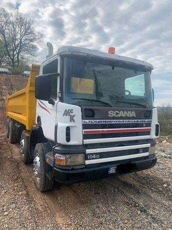Scania 8x4 an 2001