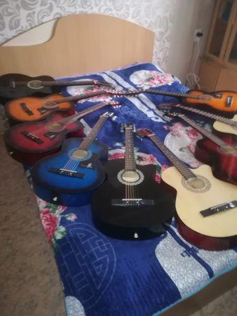 Продам новые гитары в полной комплектацией