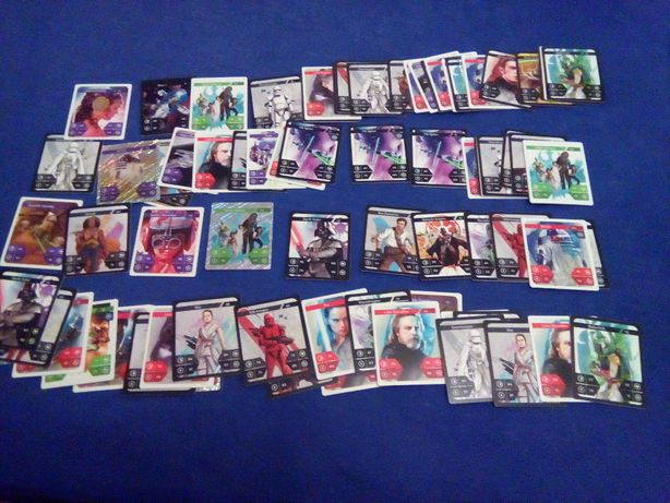 Cartonase Star Wars Kaufland- colectia completa+ catalog nou