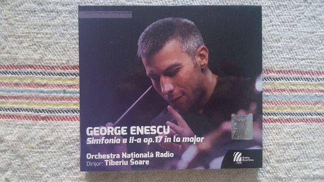 CD GEORGE ENESCU - Simfonia a II-a (muzica clasica)