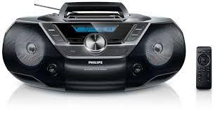 -30 % Reducere, Philips AZ780, Radio FM, CD mp3, USB, AUX. NOU SIGILAT