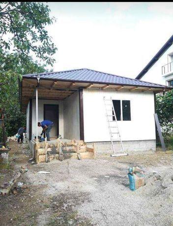 Construim și Vindem căsuțe locuibile pe structură metalică sau lemn