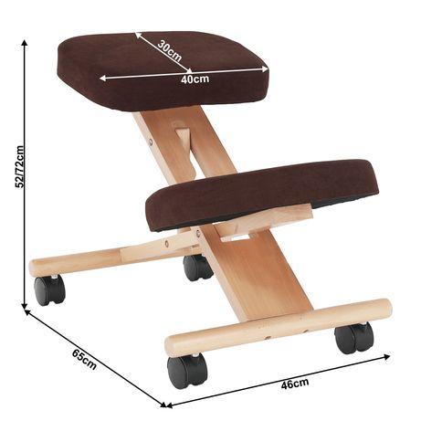 Scaun Ergonomic pliabil pt. birou contra durerilor de spate
