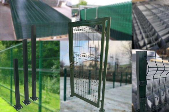 Най-добра цена в ЕС. Оградни пана, вратички, колове, портали, мрежа...