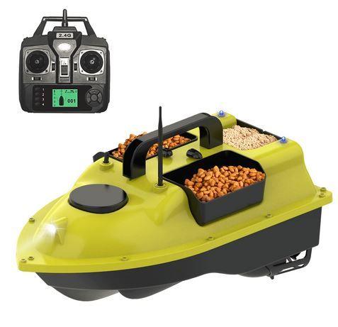 Нова Лодка за захранка с GPS и автопилот