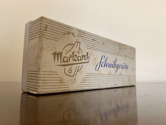 Стара винтидж кутия от химикалка MARKANT DDR K-165