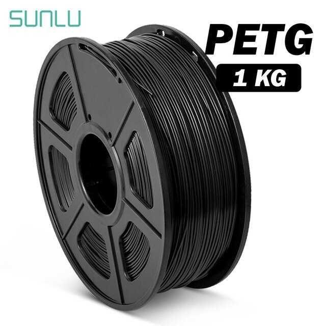 PETG 1.75mm филамент SUNLU черен/бял