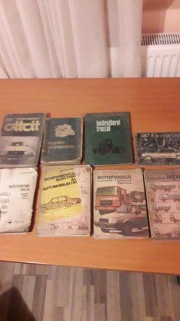 Cărți editură tehnică Dacia , Oltcit , Roman , Ford etc.