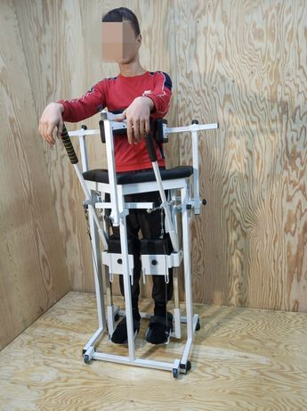 Имитатор ходьбы тренажер для инвалидов ДЦП вертикализатор имитрон