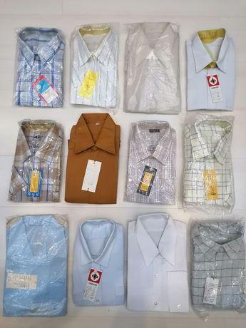 Български нови мъжки ризи 30 броя по 7 лв.бр.