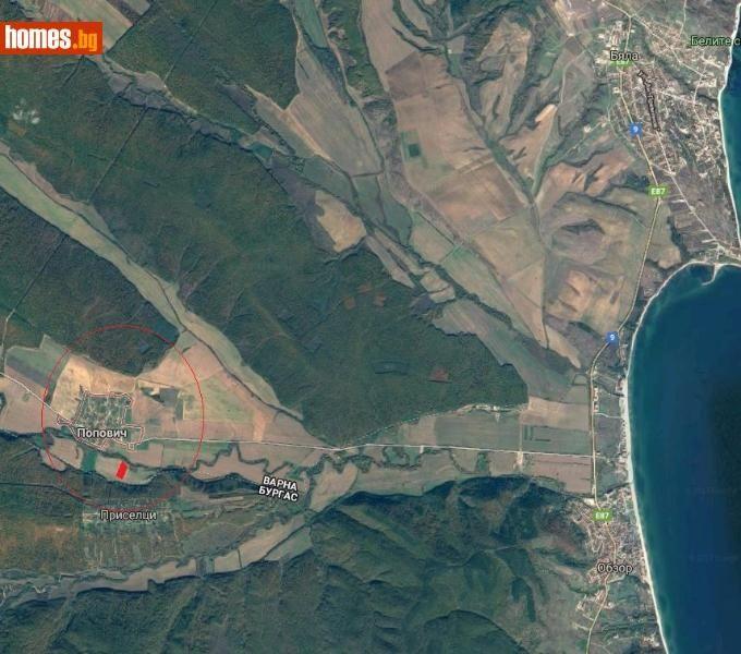 Парцел 8.7дка на 7км от морето за инвестиция с. Попович - image 1